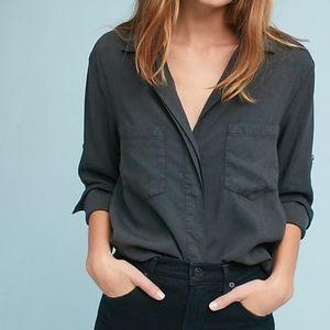 Cloth & Stone Frayed Buttondown